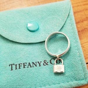 Tiffany & Co. Padlock ring